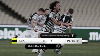 Τα στιγμιότυπα του ΑΕΚ-ΠΑΟΚ - PAOK TV