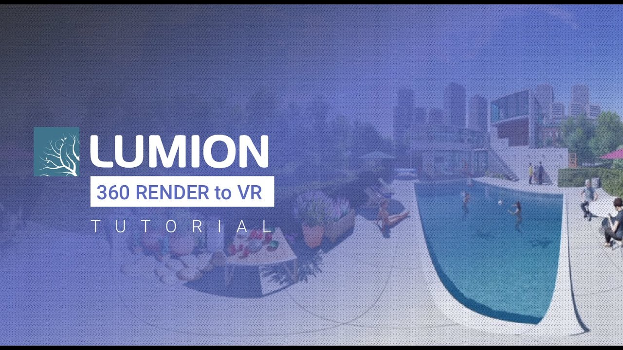 360 images using Lumion