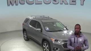 190506 New 2019 Chevrolet Traverse LT Leather AWD SUV Gray Test Drive, Review, For Sale -