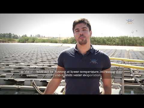 Ciel & Terre Brasil: Installation of Hydrelio floating system in Goias Farm