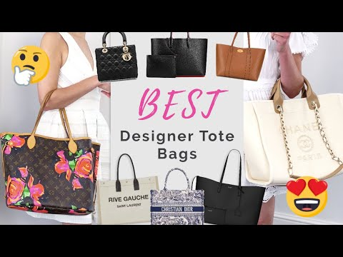 17 BEST Designer TOTE BAGS ✅ for Work and Everyday 👜 CHANEL, Louis Vuitton, YSL, Dior & MORE