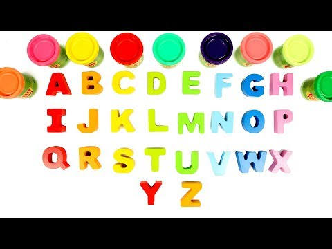 ABC Song | Play Doh | Learn Alphabets | Alphabets Song For Kids | Kids Channel | Baby Song