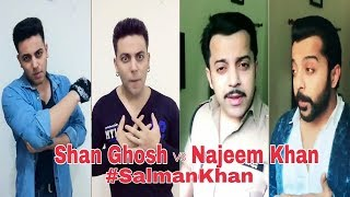Salman Khan Musically | Salman Khan Copy Shan Ghosh vs Najeem Khan New Musically Comedy