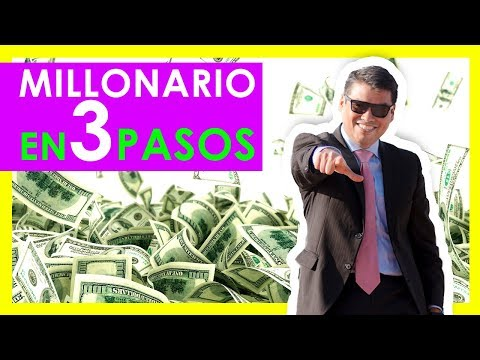 👣👣👣 3 PASOS CONCRETOS PARA SER MILLONARIO 🤓🤓🤓💲💲- Mentes Millonarias