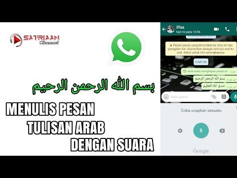 Cara Membuat Tulisan Arab Di Android Whatsapp Tutorial