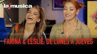 De 'lunes A Jueves' Con Farina Y Leslie Grace  Lamusica