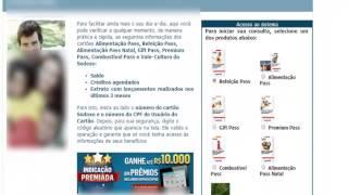 Saldo Sodexo Alimentação refeição sodexosaldocartao.com.br