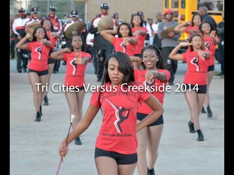 Tri-Cities Marching Band 2014- VS Creekside/Stands