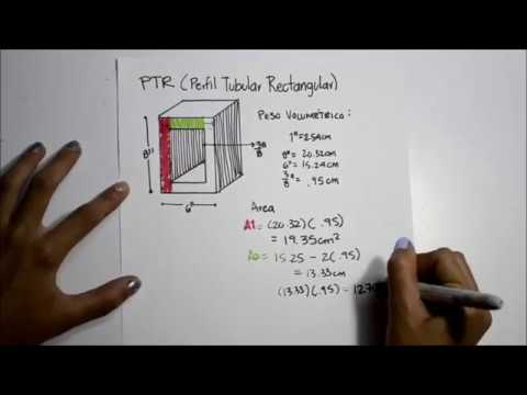 PTR Perfil Tubular Rectangular