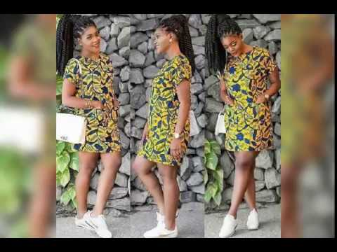 Superbe Model Pagne Africaine Robe Courte African Fashion Styles Youtube