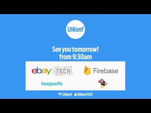 UIKonf 2017 Livestream - Day 1