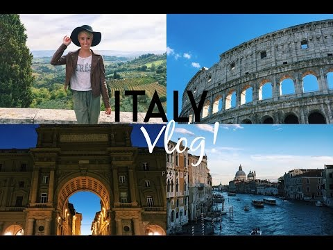 Italy Vlog | Venice, Florence & Rome!