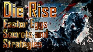 Black Ops 2 | Die Rise Easter Eggs, Secrets and Strategies