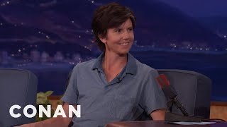 "Tig Notaro's 1-Year-Old Son Likes To Yell ""I'm Gay!""  - CONAN on TBS"