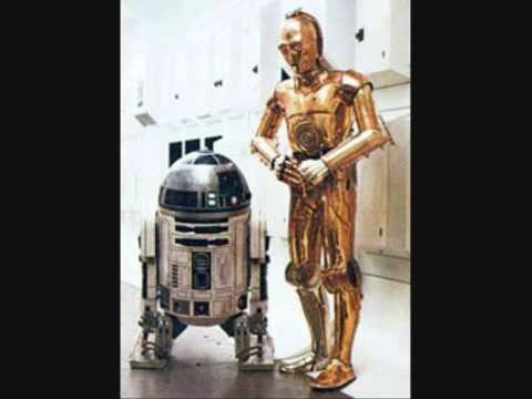 SLEIGH RIDE-  C3P0 AND R2D2. Star Wars Christmas Edition