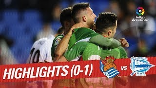 Highlights Real Sociedad vs Deportivo Alaves (0-1)