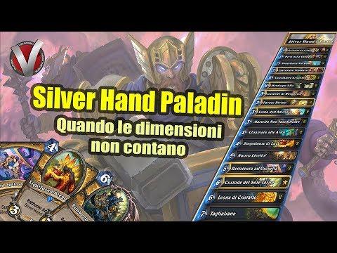 Silver Hand Paladin: un deck da Legend! - Hearthstone ITA