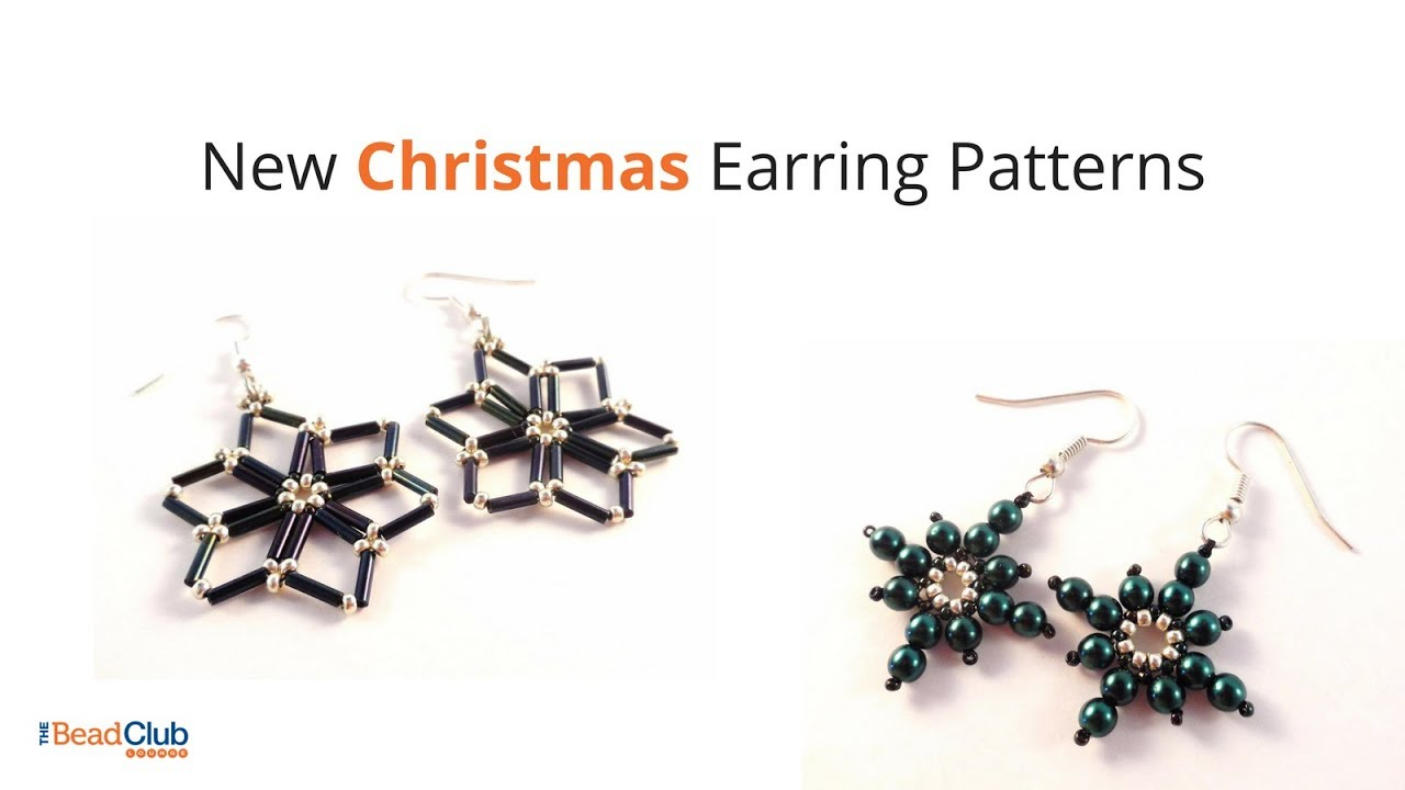 See New Christmas Earring Patterns