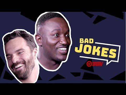 Hannibal Buress vs. Jake Johnson | Bad Joke Telling