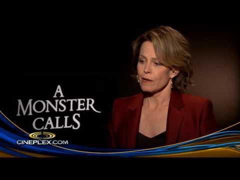 Sigourney Weaver and J.A. Bayona on A Monster Calls