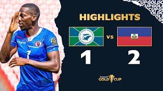 Highlights: Martinique vs Haiti - Gold Cup 2021