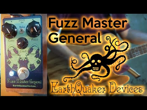 Fuzz Master General By Earthquaker Devices