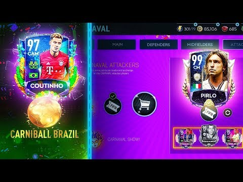 ОТКРЫВАЮ НАБОРЫ КАРНАГОЛ / CARNIBALL IN FIFA MOBILE - NEW EVENT!!
