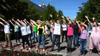 Библиотеки флешмоб день города Кемерово 2014