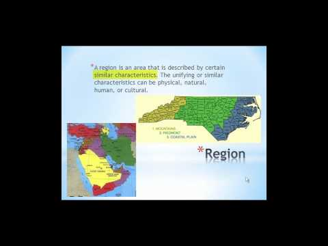 EDU 5010 Five Themes of Geography