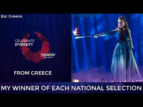 Eurovision 2017: MY WINNER OF EACH NATIONAL SELECTION (With Rate)