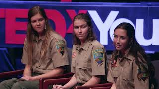 The Role of Youth in Search and Rescue | Kalyn Dawes, Sabrina Tripp & Kate Larsen | TEDxYouth@SHC