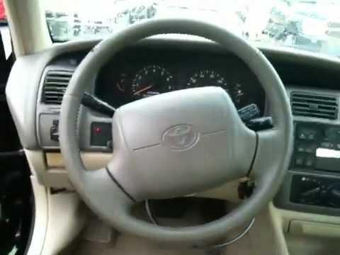 1998 toyota avalon xl mileage 98 000 leather interior youtube