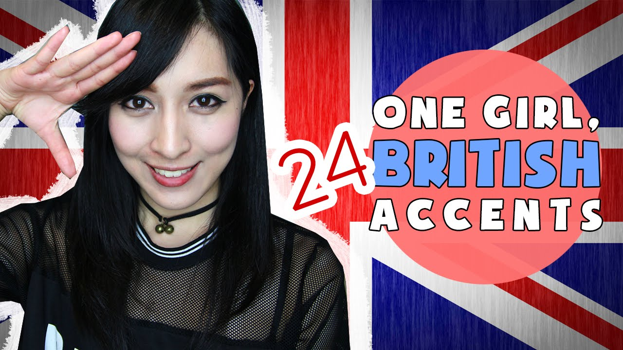 Asian girl british accent