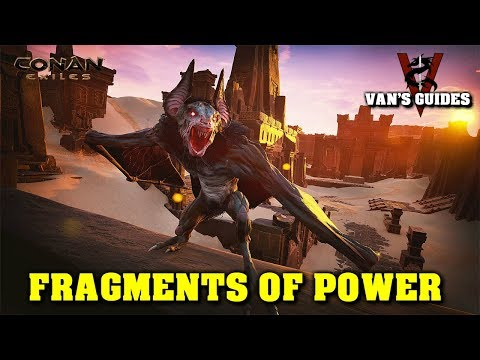 Conan Exiles - Fragments Of Power - Unlock All Feats!