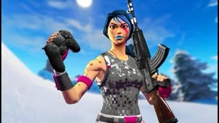 I AM Dominating The Sensitivity That Aimbot Gives You.... Fortnite