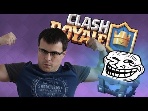 ¡¡UN MAZO SÚPER TANKY!! | El Cofre Troll | Clash Royale con TheAlvaro845 | Español
