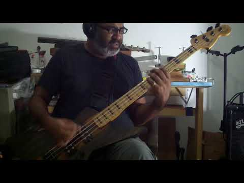 FAITH NO MORE *DIGGING THE GRAVE* BASS COVER