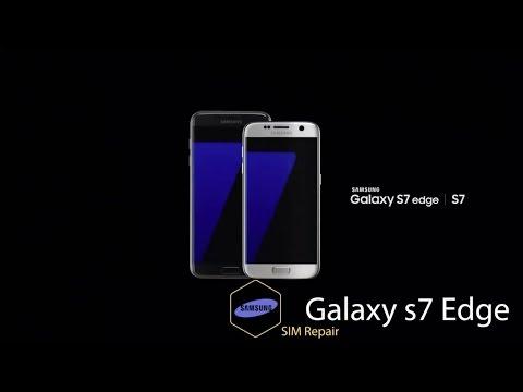 Ремонт Samsung Galaxy S7 Edge G935F - замена разъема сим и карты памяти
