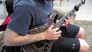 Ghost Atlas - Cry Wolf (Guitar Solo Cover)