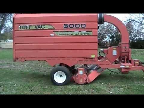 Agrimetal Vac 5000 Commercial Leaf Debris Collection