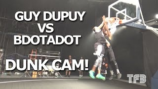 Guy Dupuy vs BDotADot5 NBA Impersonator INSANE DUNKCAM at Dunk League #SCTop10 Video
