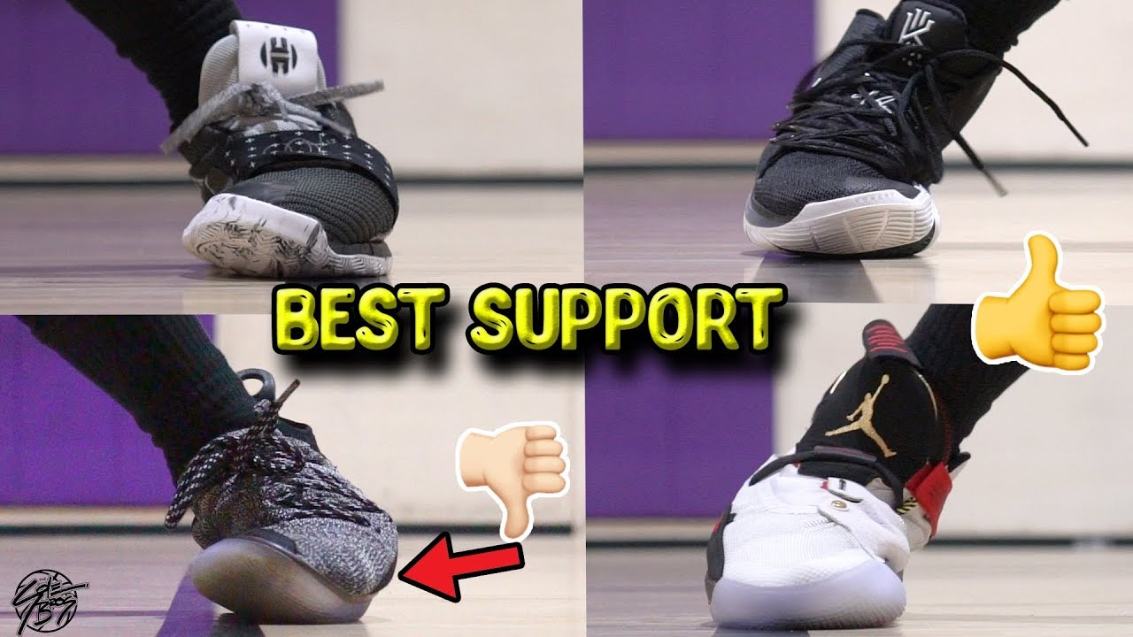 shoes with the best support