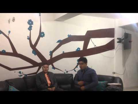 Reto tecmilenio campus Guadalupe entrevista a Ebel de la rosa