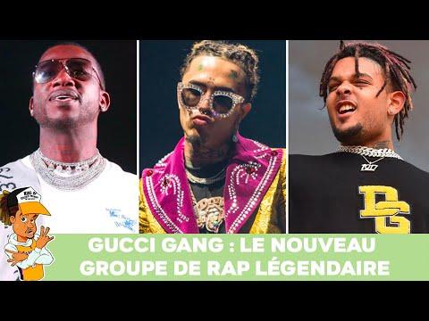 Gucci Gang : Le nouveau groupe de Rap légendaire !!