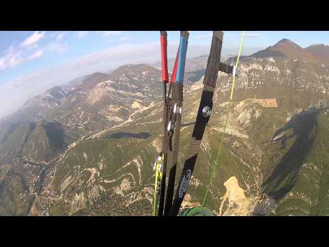 FLY WITH OZONE PARAGLIDE, ARTION VRETO - PARAGLIDING