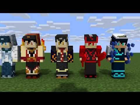 Boboiboy Show Power-Minecraft Gakjelas Animation