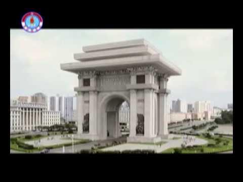 Der Triumphbogen in Pyongyang