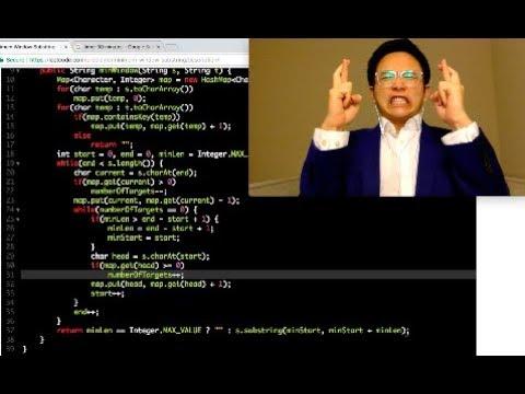 30min Coding Challenge - Minimum Window Substring