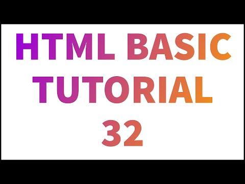 #HTML HTML TUTORIAL 32 - ALIGN ATTRIBUTE