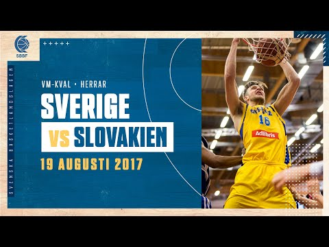 FULL GAME: Sverige-Slovakien (FIBA World Cup European Pre-Qualifiers)